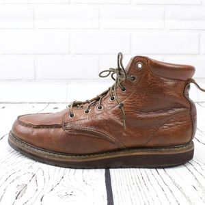 LL Bean Moc Stlye Work Moto Hiking Boots Size 10.5